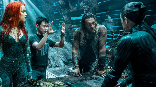 Batman James Wan Aquaman Jason Momoa Amber Entendu Furieux 7 Zack Snyder Dark Knight Rises