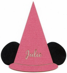 Custom Princess Hat Laser Die Cut