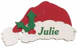 Custom Santa Hat Laser Die Cut