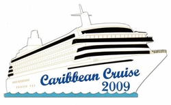Custom Cruise Ship Laser Die Cut