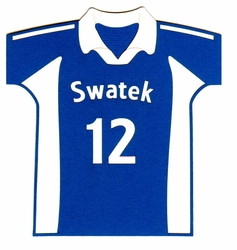 Custom Volleyball Jersey Laser Die Cut