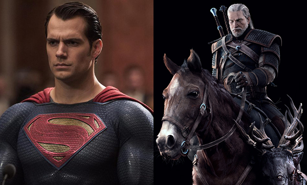 Henry Cavill Netflix The Witcher Superman
