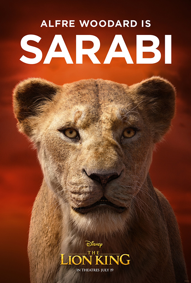"Le roi lion Lionel Sarabi ""width ="" 628 ""height ="" 931"