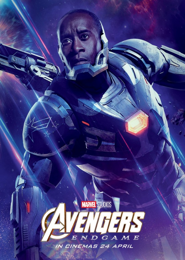 Avengers Endgame Don Cheadle Machine de guerre