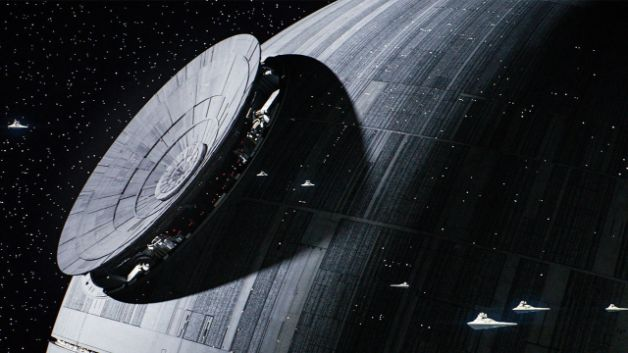 "Star Wars Rogue One Death Star ""width ="" 628 ""height ="" 353"