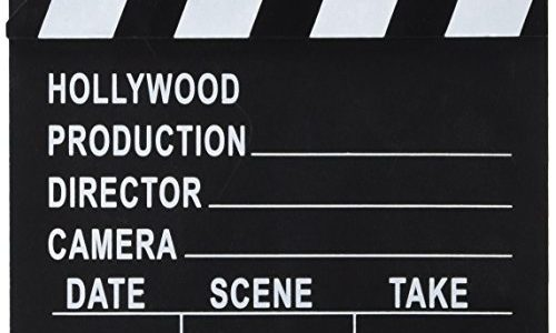 Film Slateboard Clapper du réalisateur hollywoodien - ubaskets