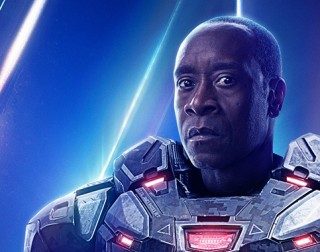 Avengers 4 Don Cheadle Marvel Studios Machine de guerre Endgame Confiture LeBron James Space