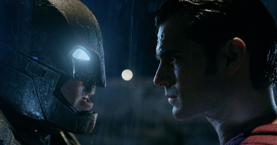 Batman v Superman Ben Affleck Henry Cavill