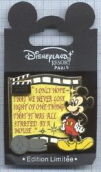 Pin's Le 600 Dlrp Mickey's Pin'versary Event Mickey Mouse Clapboard 2008 Film