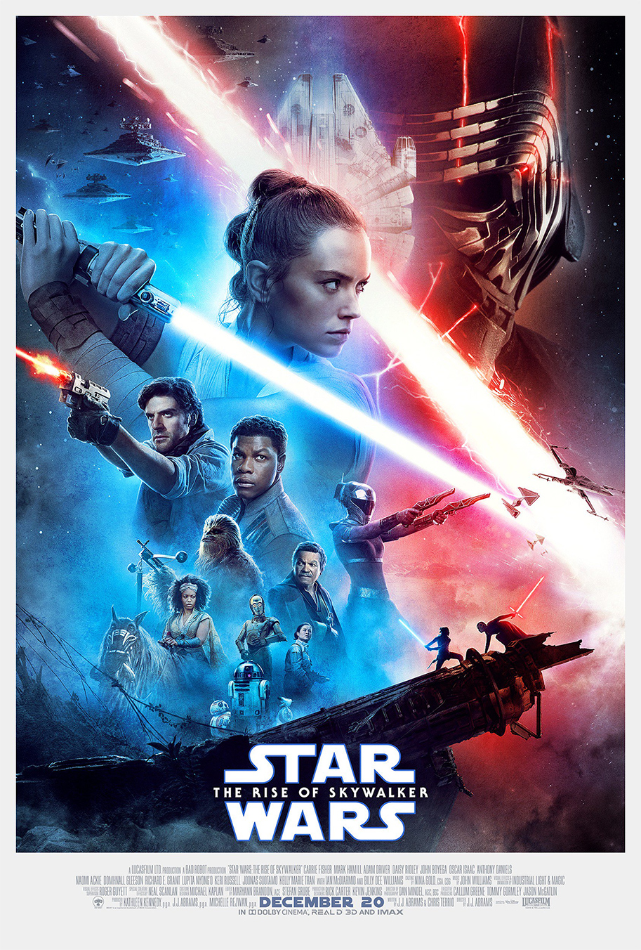 Star Wars: La montée de Skywalker, affiche