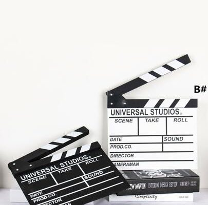 Film Clapper Board 1pc | ROMWE