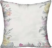 MLNHY Shabby Chic Decor Jardin de roses sauvages