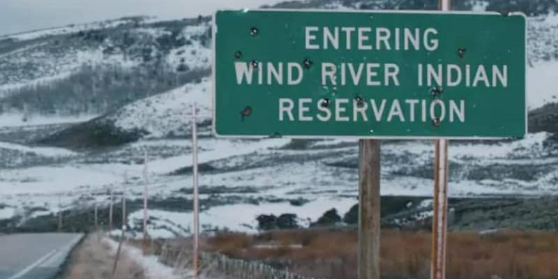 Welcome sign to Wind River