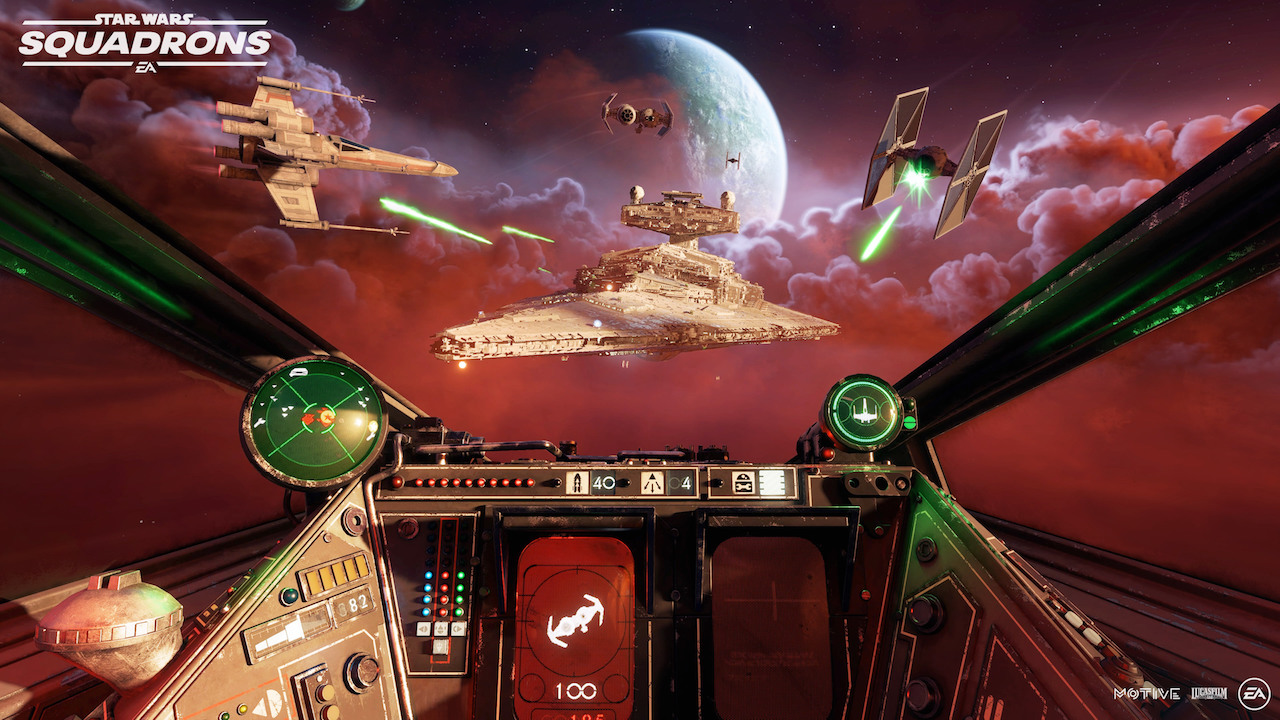 """Le cockpit d'un XWing dans Star Wars: Squadrons """"width ="""" 1280 """"height ="""" 720 """"srcset ="""" https://wegotthiscovered.com/wp-content/uploads/2020/10/SW-Squadrons-XWing-cockpit. jpg 1280w, https://wegotthiscovered.com/wp-content/uploads/2020/10/SW-Squadrons-XWing-cockpit-564x317.jpg 564w, https://wegotthiscovered.com/wp-content/uploads/2020/ 10 / SW-Squadrons-XWing-cockpit-640x360.jpg 640w """"tailles ="""" (largeur maximale: 1280px) 100vw, 1280px"""