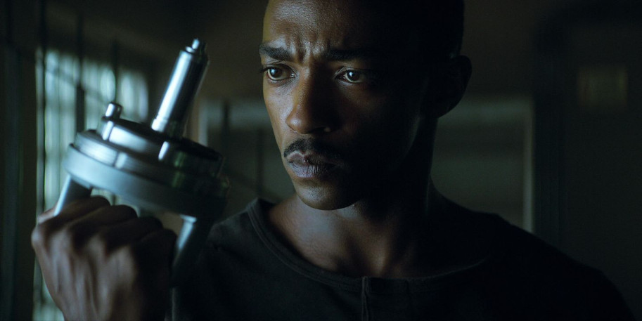 Outside the Wire, Anthony Mackie, Netflix, Damson Idris, action, JoBlo.com, science-fiction
