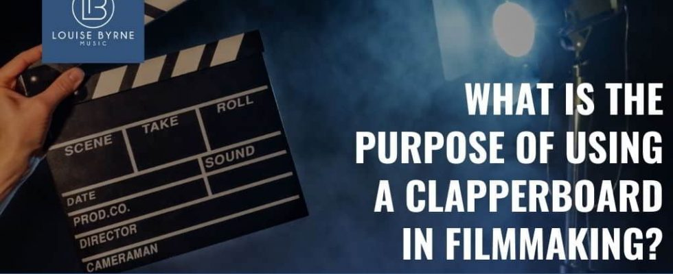 clapperboard use
